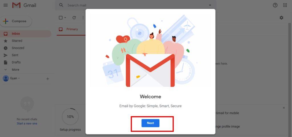 Gmail पर एकाउंट कैसे बनायें