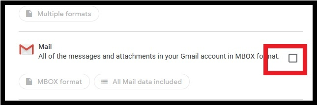 Download gmail Emails