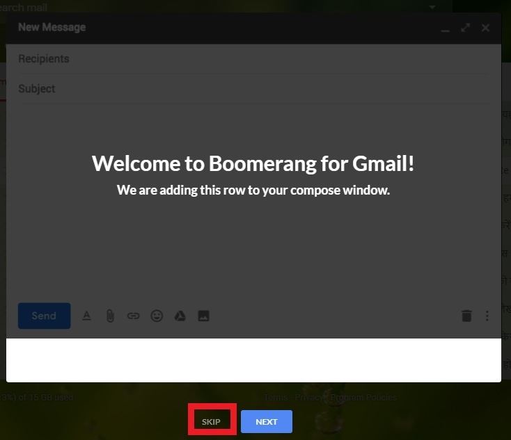 BOOMERANG FOR GMAIL,