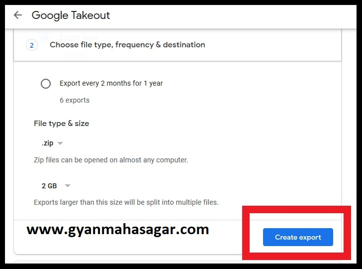 create export,download gmail emails