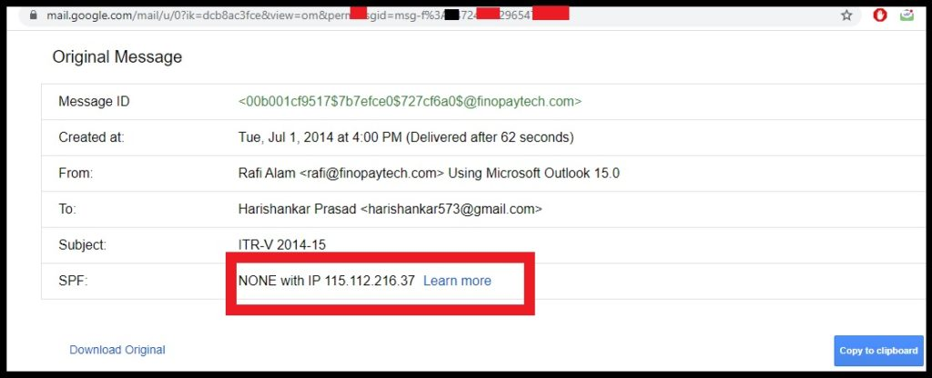 Email Sender IP Address,IP,ORIGINAL MESSAGE